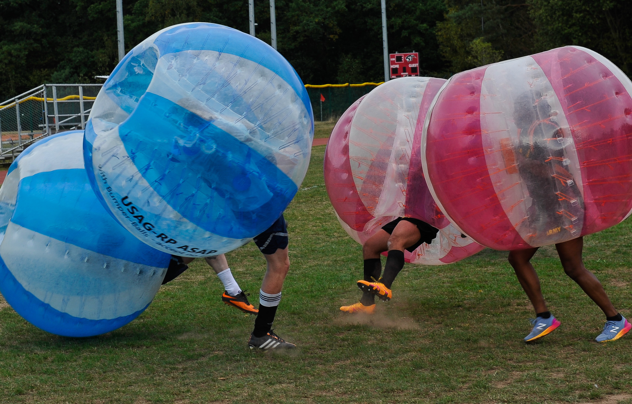 CFC kicks off with bubble soccer
